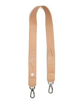 Longchamp - Le Pliage Star Leather Shoulder Strap