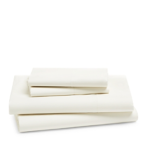 Hudson Park Collection 470TC Percale Solid Sheet Set, California King - 100% Exclusive