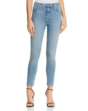 J Brand Alana High Rise Skinny Jeans in Surge