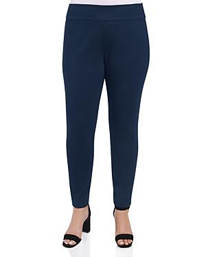 Foxcroft Plus Reversible Ponte Pants