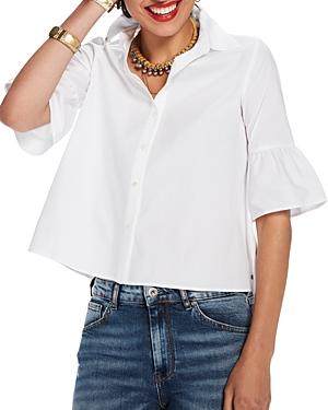 Scotch & Soda Ruffled-Sleeve Shirt