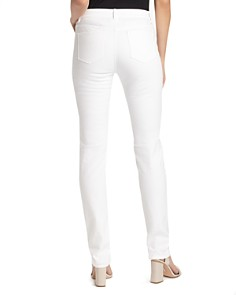 Lafayette 148 New York - Thompson Chevron-Textured Jeans in White