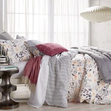 $Sparrow & Wren Flora Printed Reversible Duvet Sets - 100% Exclusive - Bloomingdale's