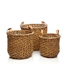 Britannica - Banana Bark Baskets, Set of 3 - 100% Exclusive