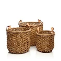 Britannica - Banana Bark Baskets, Set of 3 - 100% Exclusive