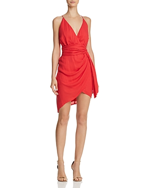 Stylestalker Dacey Faux-Wrap Dress