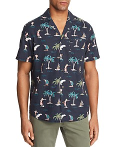 BANKS Hula Short Sleeve Button-Down Shirt - 100% Exclusive - Bloomingdale's_0