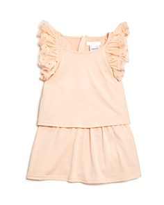 Chloé Girls' Popover Jersey Ruffle Dress - Baby - Bloomingdale's_0
