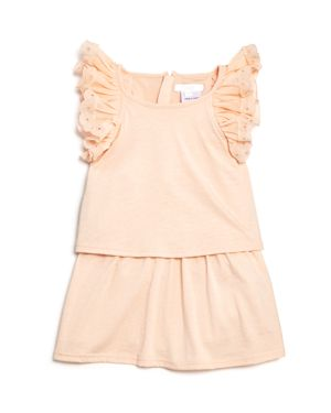 Chloe Girls' Popover Jersey Ruffle Dress - Baby