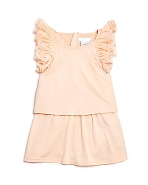 Chloe Girls' Popover Jersey Ruffle Dress - Baby
