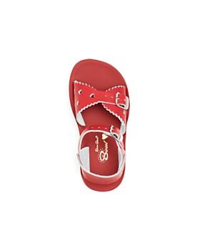 Salt Water Sandals - Girls' Sweetheart Leather Sandals - Walker, Toddler, Little Kid