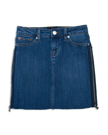 Hudson - Girls' Olivia Denim Skirt with Zipper Details - Big Kid