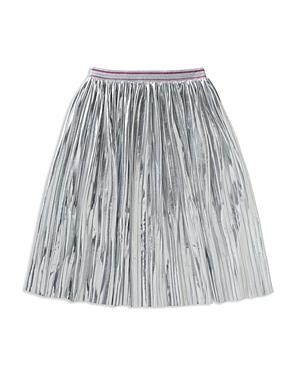 kate spade new york Girls' Pleated Metallic Skirt - Big Kid
