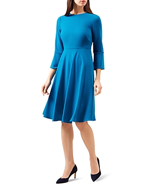 Hobbs London Samantha Bell Sleeve Dress