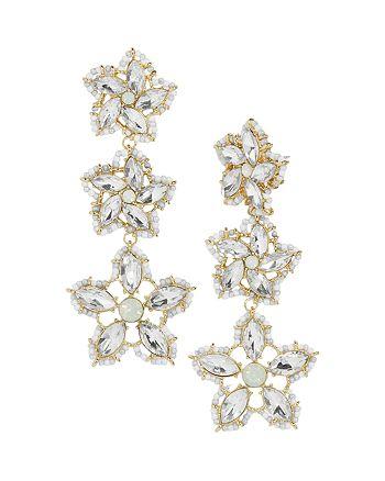 BAUBLEBAR - Ice Flower Drop Earrings