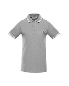 Moncler Boys' Tipped Polo - Little Kid - Bloomingdale's_0