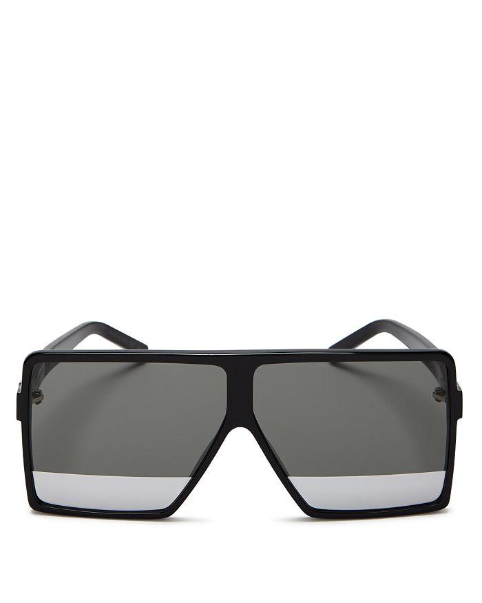 1b4632ccce2 Saint Laurent - Women s SL 183 Betty Square Shield Sunglasses