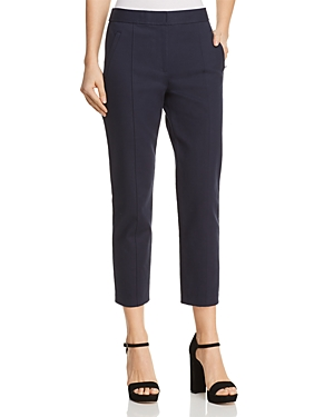 Tory Burch Vanner Straight Crop Pants