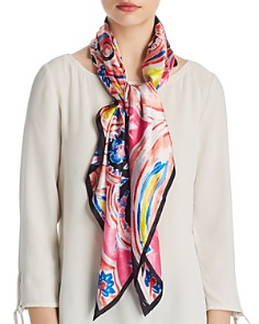 Echo Painterly Paisley Silk Square Scarf - 100% Exclusive - Bloomingdale's_0