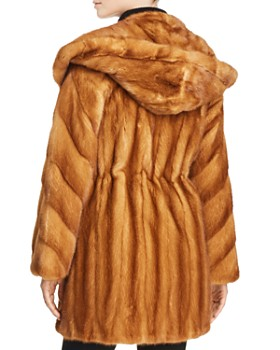 Maximilian Furs - Mink Fur Anorak - 100% Exclusive