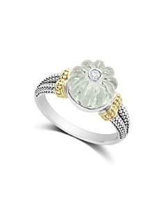 LAGOS 18K Gold & Sterling Silver Gemstone Melon Bead & Diamond Ring - Bloomingdale's_0