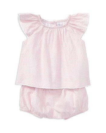Ralph Lauren - Girls' Seersucker Top & Bloomers Set - Baby