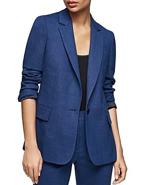 Reiss Malani Wool-Blend Tailored Blazer