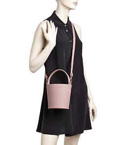 MATEO - Madeline Leather Bucket Bag