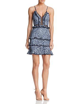 Keepsake - Catch Me Lace Mini Dress