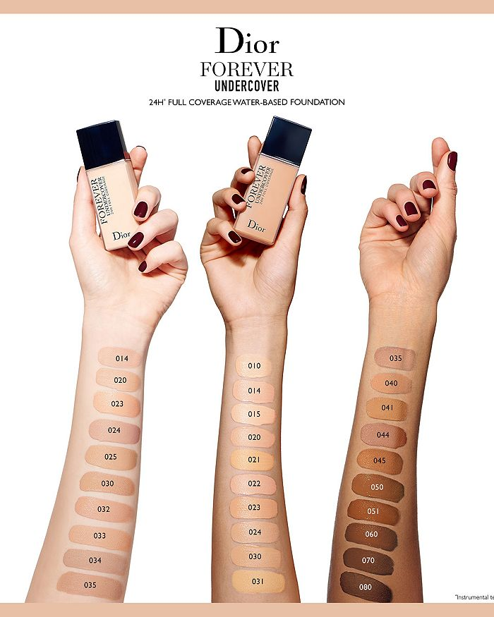 33827559112 Dior Diorskin Forever Undercover 24-Hour Full Coverage Foundation ...