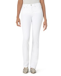 NYDJ Petites Marilyn Straight-Leg Jeans in Optic White - Bloomingdale's_0