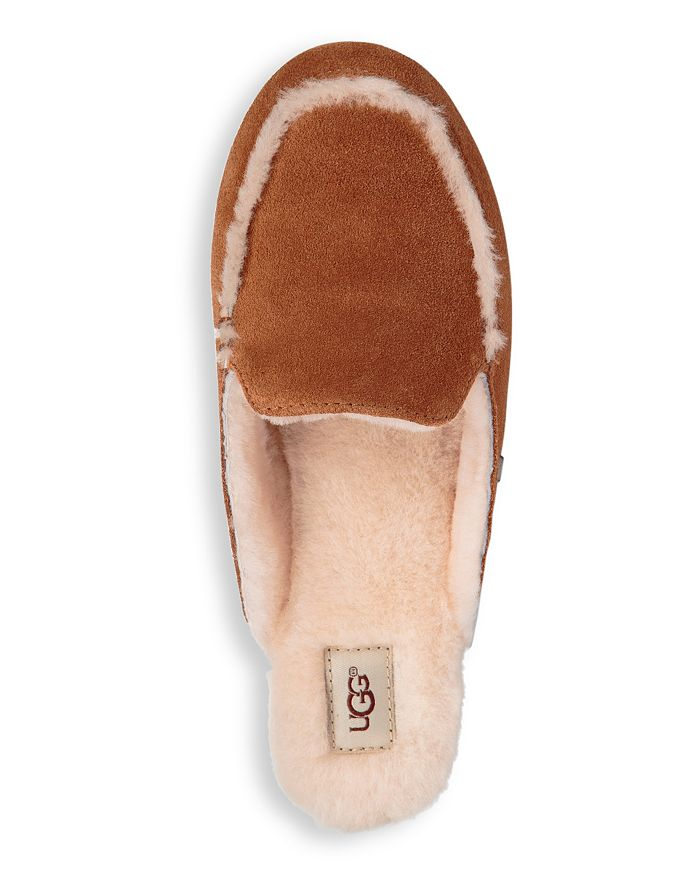 4682a0351 UGG® Women's Lane Suede & Shearling Slippers | Bloomingdale's