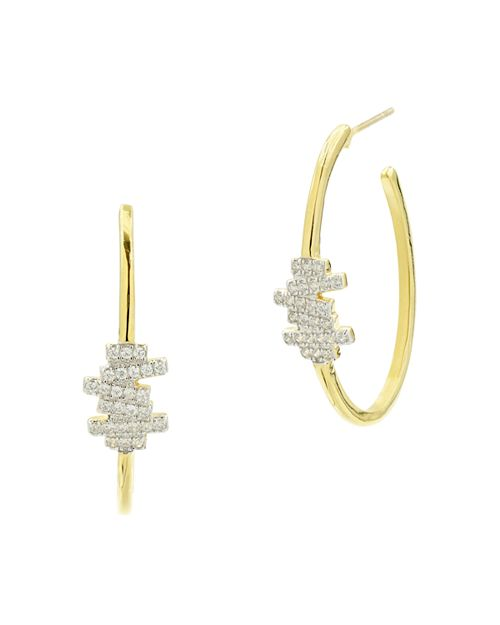 Freida Rothman - Radiance Hoop Earrings