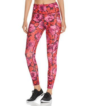 kate spade new york Electric Rose Print Leggings