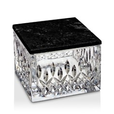 Waterford Lismore Covered Box with Marble Lid - Bloomingdale's Registry_0