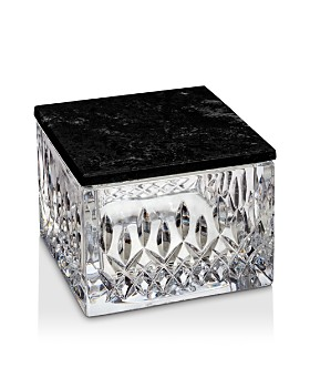 Waterford - Lismore Covered Box with Marble Lid