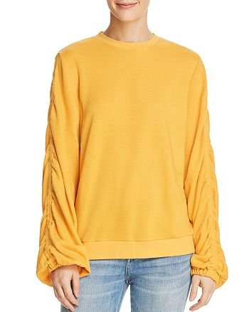 The Fifth Label - Frisbee Ruched-Sleeve Sweater