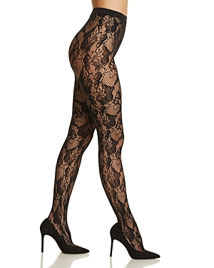 Wolford Louise Lace Tights