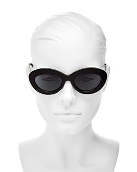 Le Specs - Women's Fluxus Round Sunglasses, 49mm