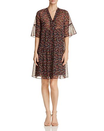 Gerard Darel - Douce Micro Floral Print Dress - 100% Exclusive