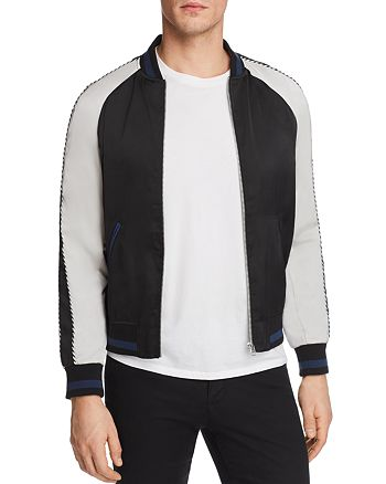 The Kooples - Burnt Sunrise Bomber Jacket - 100% Exclusive