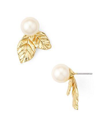 65076ea12c352 kate spade new york Leaf Stud Earrings | Bloomingdale's