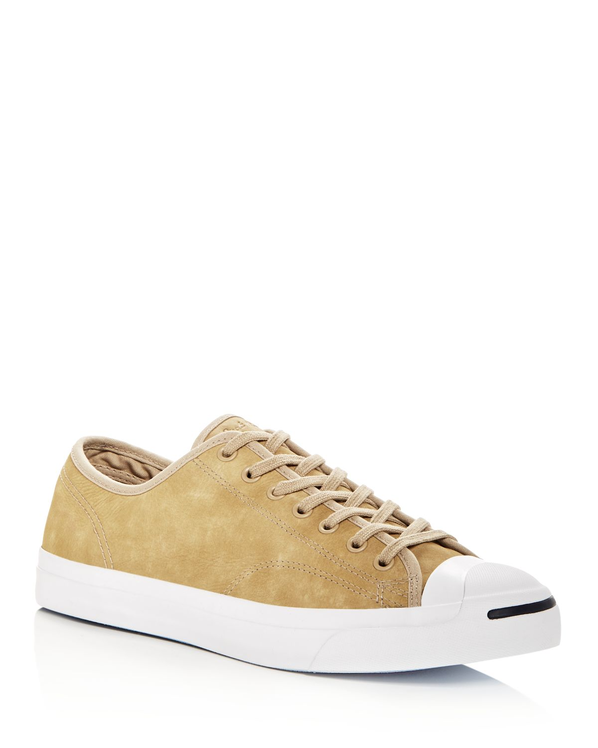 Converse Men's Jack Purcell Vintage Suede Lace Up Sneakers
