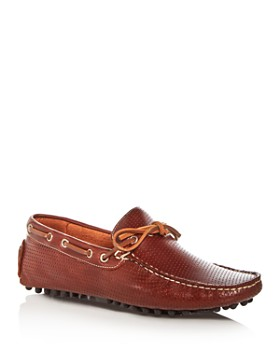 The Men's Store at Bloomingdale's - Men's Perforated Leather Moc Toe Drivers