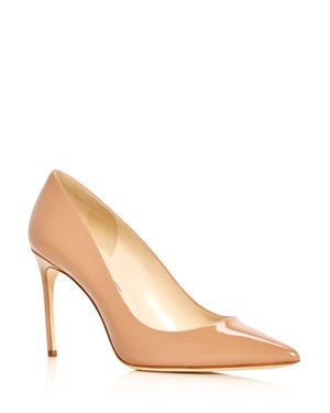 Women'S Valerie Pointed-Toe Pumps, Cappuccino