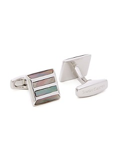 Simon Carter Mother-of-Pearl Stripe Cufflinks - Bloomingdale's_0