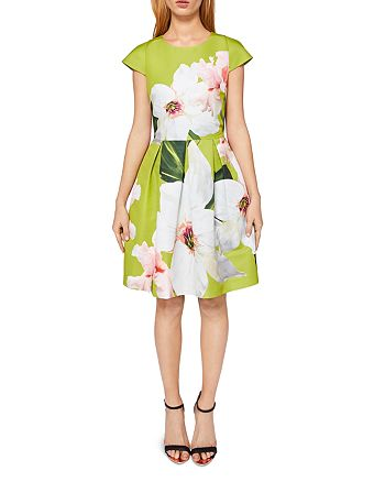 b3efd8750ccc3 Ted Baker - Lynetta Chatsworth Bloom Skater Dress