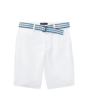 Polo Ralph Lauren Boys SlimFit Stretch Shorts with Belt  Big Kid