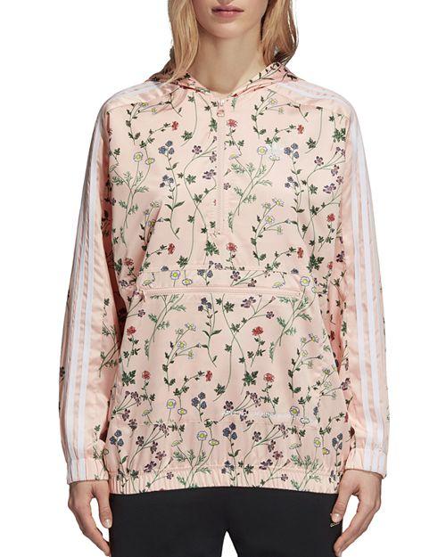 adidas Originals - Floral Print Windbreaker Jacket