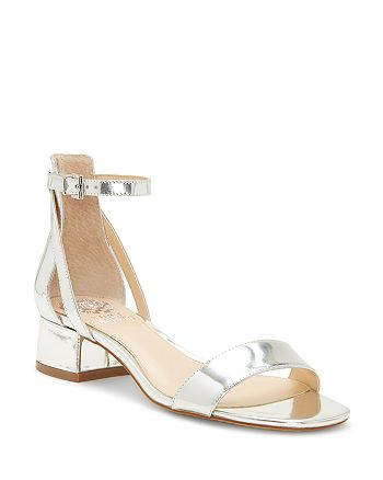 b10fb33dd486 VINCE CAMUTO Women s Shetana Leather Ankle Strap Sandals ...